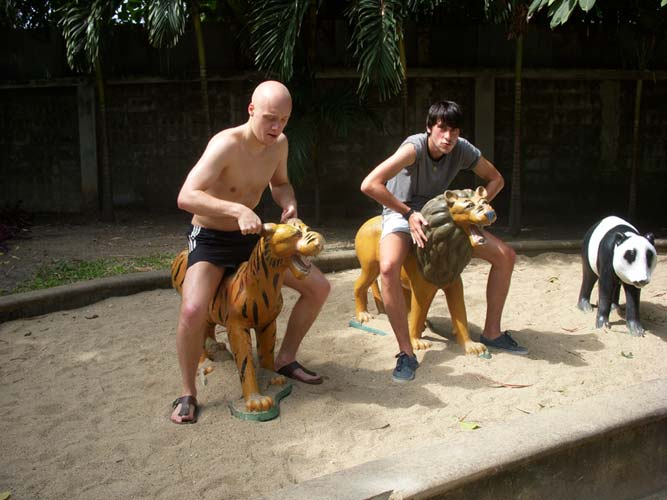 Riding Animals in Chiang Mai Park