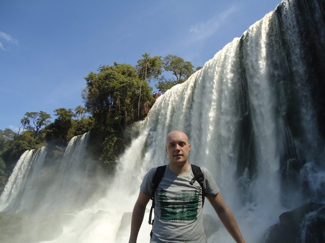 One of the most breathtaking places on Earth, Iguazu Falls.